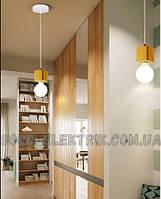 Светильник деревянный лофт - NORDIK-1-01