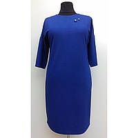 Платье женское осеннее большого размера нарядное 58 (54, 56, 60) батал для полных женщин № 381/