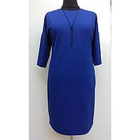 Платье женское осеннее большого размера нарядное 60 (54, 56, 60) батал для полных женщин № 381.