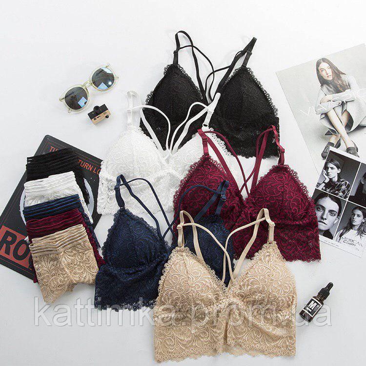 Комплекты с топом женского белья женское белье 100 хлопок