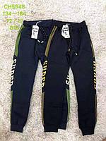 Спортивные брюки утепленные на мальчика оптом, S&D, 134-164 рр