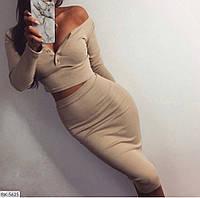 Костюм  с юбкой женский  Лина, фото 1