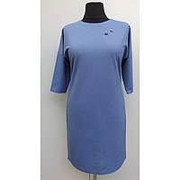 Платье женское осеннее большого размера нарядное 54 (56, 58, 60) батал для полных женщин № 381.