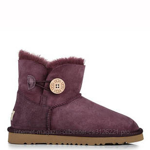 "UGG MINI BAILEY BUTTON BOOT ""LAVANDER"" Арт. 0372"