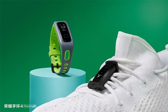Фитнес-трекер Honor Band 4 Running Edition с монохромным OLED-экраном Черный Красный Зеленый