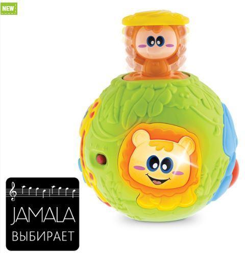 ІГРАШКА МУЗИЧНА POP UP BALL