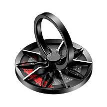 Кольцо-держатель для телефона Baseus Wheel Ring Bracket SULG-B1S (Черное), фото 2