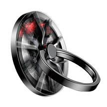 Кольцо-держатель для телефона Baseus Wheel Ring Bracket SULG-B1S (Черное), фото 3