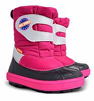 Зимние детские сапоги demar baby sports для девочек  22-23р - 15см;