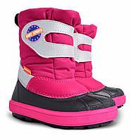 Зимние детские сапоги demar baby sports для девочек  24-25р - 16,5см;