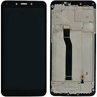 Дисплей (модуль) Xiaomi Redmi 6/6a + сенсор черный + рамка original