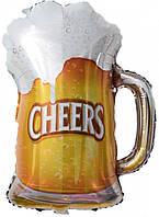 Фольгированный шар кружка пива 70х52 см