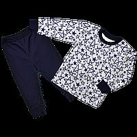 Детская пижама для мальчика Синяя звезда , Размер детской одежды 128