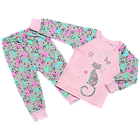 Детская пижама для девочек Коты , Размер детской одежды 134