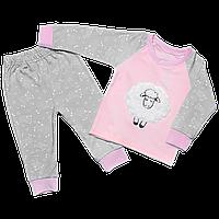 Детская пижама с овечкой Сладкий сон, Размер детской одежды 134