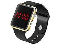 Электронные спортивные часы Apple Watch  Черное золото