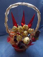 """Букет из конфет""""Красное золото"""", фото 1"""