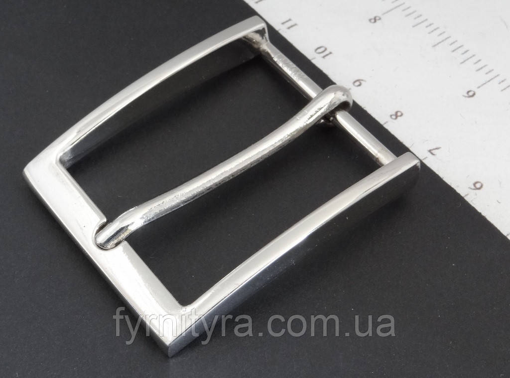 Пряжка ремінна 35мм ZK 0271 нікель