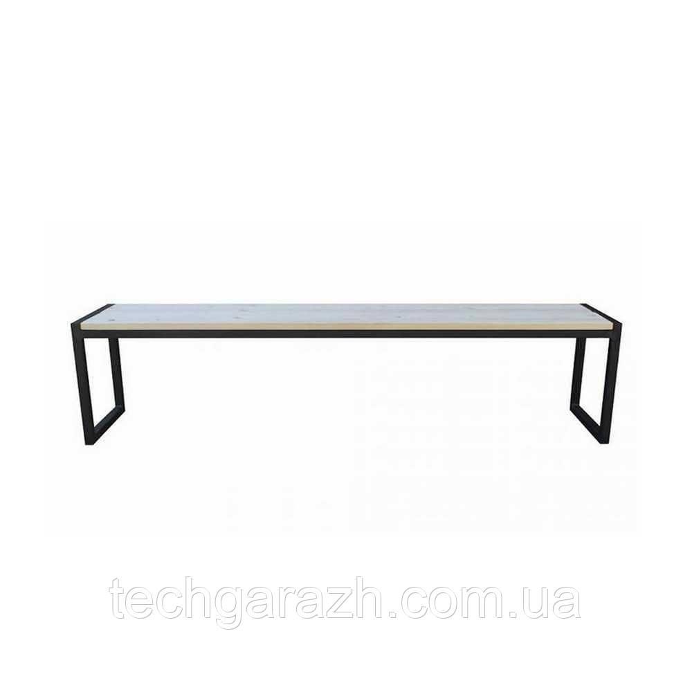 обеденная скамейка в стиле Loft белый Ns 970000681 Biglua