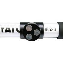 Светодиодная беспроводная лампа 27 LED акумулят. 3, 6 V с зарядкою вид 220 V, YT-08523 YATO, фото 2