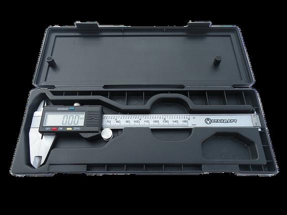 Штангенциркуль цифровой, 150мм, DVC0115 СТАНДАРТ, фото 2