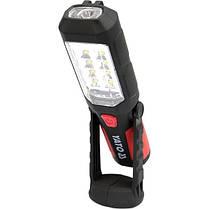 Ліхтар LED на батарейки 3Х АА, 8 + 1 діод , гак + магніт , 3 режими світла, YT-08513 YATO, фото 3