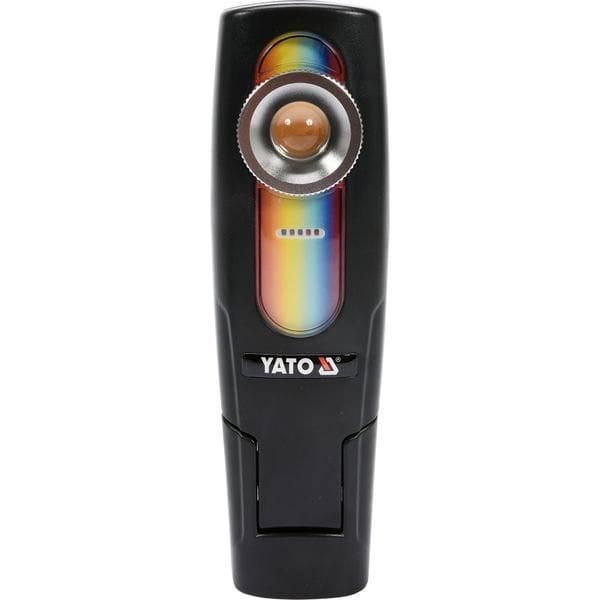Світильник переносний для підбирання кольорів, світлодіодний 5 Вт Li-Ion акумулят. з зар.- 220В, YT-08509 YATO