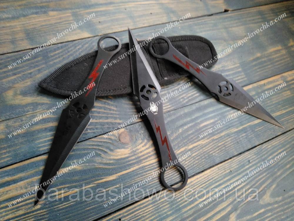 Нож метательный Тренировочные Spyder Ninja 3 в 1
