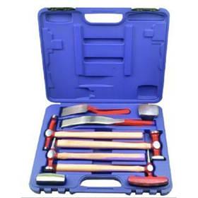Набір інструментів рихтувальних для кузовних робіт, 9пр, в кейсі, RF-50719 ROCKFORCE