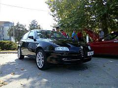 Ветровики, дефлекторы окон Alfa Romeo 147 3d (937) 2000-2010 'Cobra tuning'