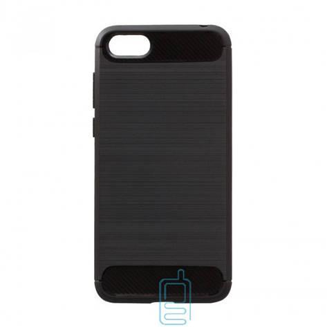 Чехол силиконовый Polished Carbon Huawei Y5 2018. Y5 Prime 2018. Honor 7A черный, фото 2