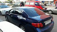 Toyota Corolla 2007-2013 гг. Ветровики (4 шт, Perflex)