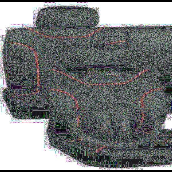 Набор чехлов MILEX, Classic AG-7262/1 полный комплект, 2пер+2задн+5подг/черные