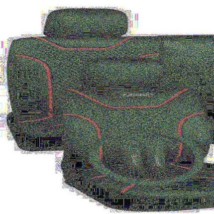 Набор чехлов MILEX/Classic AG-7262/23 полный к-т/2пер+2задн+5подг/синие, фото 2
