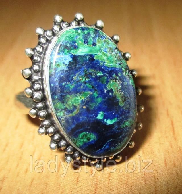 украшения с натуральнной хризоколлой купить адуляр кольцо серебро