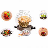 Складная решетка - дуршлаг Magic Kitchen Chef Basket, фото 6