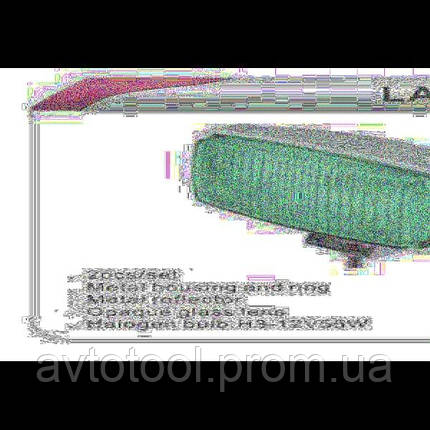 Фары дополнительные DLAA 1030 E-W хром/H3-12V-55W/163*88mm, фото 2