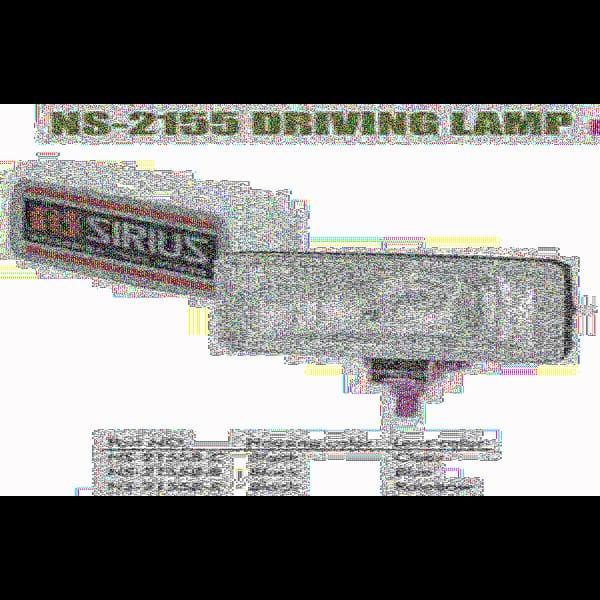 Фары дополнительные NS-2155 B-C H3/12V/55W/150*86mm/крышка