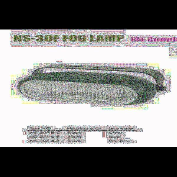Фары дополнительные NS-30 F-B-C H3/12V/55W