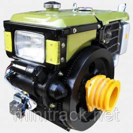 Мотор для мотоблока, Кентавр ДД195ВЭ, стартер, 12 л.с.