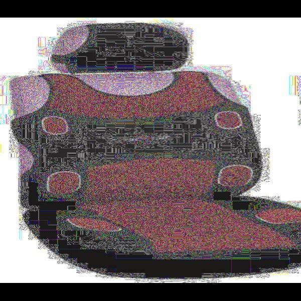 Майки MILEX Prestige AG-7253 перед комплект, 2 передних сидения + 2 подголовника красные