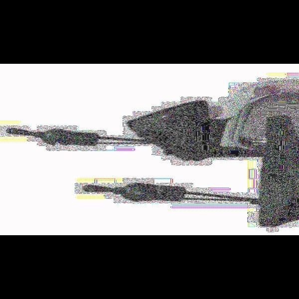 Зеркало боковое ЗБ 3107 LADA 04,05,07 CHROME