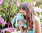 Little Live Питомец сюрприз Няшка Потеряшка Цветущие кролики Scruff-a-Luvs plush mystery rescue pet Purple, фото 8
