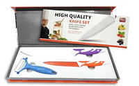 Набор Ножей 2 Шт High Qvality Knife Set И Овощечистка, фото 1