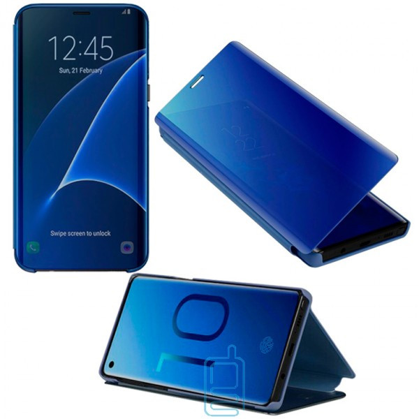 Чехол-книжка CLEAR VIEW Samsung S8 Plus G955 синий