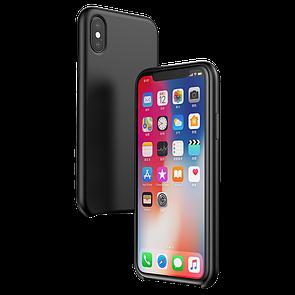 Чехол-Накладка DK-Case силикон Baseus Original LSR Case для Apple iPhone XS Max (black) (WIAPIPH65-ASL01)