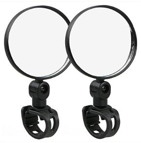 Зеркало на руль Reflector 2pcs (black)