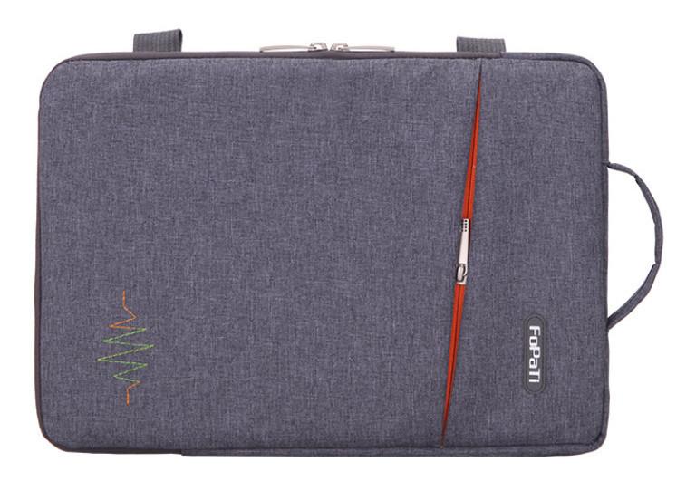 "Сумка FoPaTi Fabric Note Book 13.3"" (grey)"