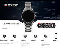 Швейцарские смарт часы премиум класса TAG HEUER CONNECTED TITANIUM