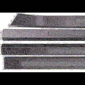 Накладки на пороги с подсветкой Mercedes Benz W220 S350 2002+, WE-S0121 BB-SE-EL